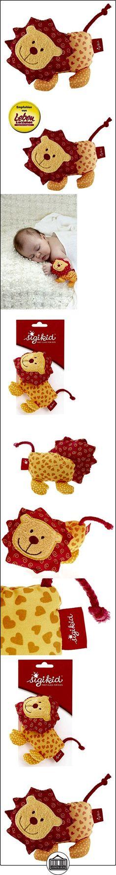 Sigikid 40128 - Peluche de león para bebé, multicolor  ✿ Regalos para recién nacidos - Bebes ✿ ▬► Ver oferta: http://comprar.io/goto/B005ATJ88Q