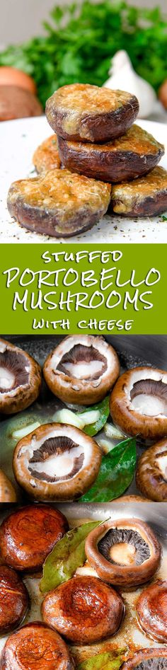 STUFFED MUSHROOMS wi