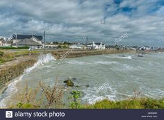 Download this stock image: Stormy day at Trearddur Bay - GMG9AH from Alamy's…