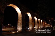 ¿Sabías que el acueducto de #Morelia es de los más largos en todo #México? El más alto se encuentra en #Querétaro.  Esta #Navidad y siempre #SéBienvenidoAquí