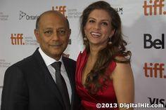 Anant Singh and Vanashree Singh at the Mandela: Long Walk to Freedom premiere at the  38th Toronto International Film Festival