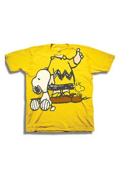 FREEZE Charlie Brown and Snoopy Costume Tee (Toddler Boys)