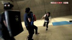 Takeru Satoh takes stunt himself
