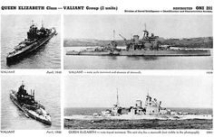 As we see in the photographic analysis from the U.S. Office Of Naval Intelligence, the British battleships Queen Elizabeth and Valiant were almost identical ships. Description from paneraiworld.blogspot.ca. I searched for this on bing.com/images