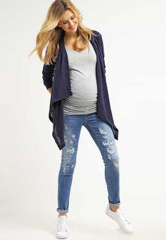 Jeans Mama Licious MLANJA - Jean boyfriend - medium blue denim denim bleu: 38,46…