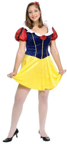 Plus Size Sexy Snow White Costume - Candy Apple Costumes - Sexy Women's Costumes