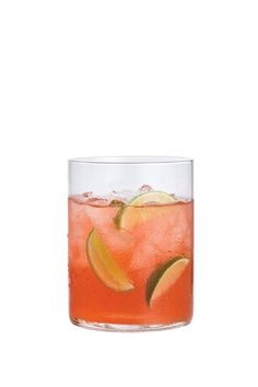 <p>Simple enough to fix up for a crowd, this fruity cocktail will have guests feeling like they're officially on island time. Throw in fresh lime wedges for an unexpected flavorful (and colorful) punch. </p><strong>Recipe:</strong> Stir together 8 ounces (1 cup) cranberry juice cocktail, 8 ounces (1 cup) vodka, 4 ounces ( cup) ginger ale, and 2 ounces ( cup) fresh lime juice in a large pitcher. Pour into ice-filled glasses, and garnish with lime wedges. Makes 4 servings.