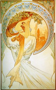 Poetry by Alphonse Mucha