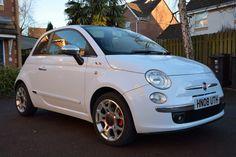 Fiat 500 1.4 Sport, full leather interior, chrome kit, MOT until end Oct 15