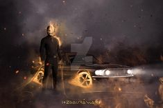 Ghost Rider Pictures, Keanu Reeves, Darth Vader, Deviantart, Fictional Characters, Fantasy Characters
