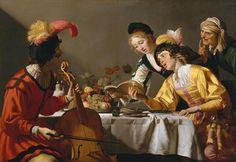 Gerrit van Honthorst, Concert, c. 1623, Galleria Borghese