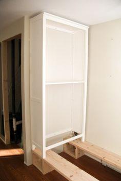 How to Build in Ikea Hemnes Bookshelf
