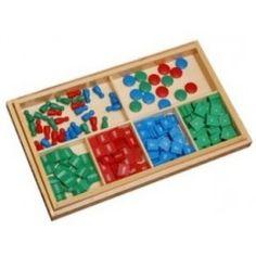 Boîte de timbres   Matériel Montessori   Tangram Montessori