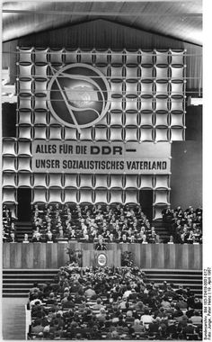 Berlin SED party conference April 1967