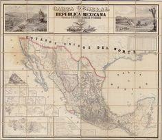 La República de México, 1863 - foto impresión