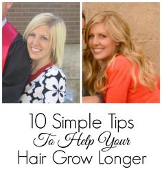 10 Tips to Growing Your Hair Out from Kristen, one of the girls at SixSistersStyle.com