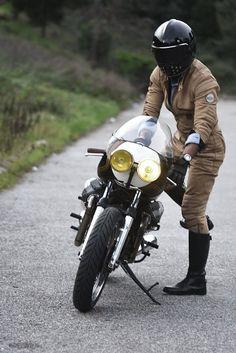 Moto Guzzi Cafe Racer - Ton Up Garage #motorcycles #caferacer #motos…