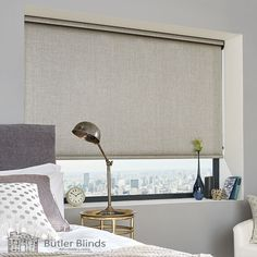 Privacy, warmth and light control are just three of the advantages of having a Roller Blind. Butler Blinds has hundreds of styles to choose from. Cleaning Blinds, Cleaning Wipes, Blinds Online, Roller Blinds, Blinds For Windows, Butler, Home Improvement, Inspirational, Curtains