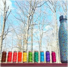 New embroidery thread from Aurifil