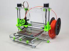 BISS: Airwolf 3D Printer AW3D V.5 + 1 LB Filament Assembled Prusa Reprap Repstrap
