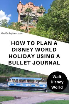 Disney Planning Using A Bullet Journal is a great way to plan your Disney holidays. So many ways to organise your planning in a Disney themed bullet journal Disney World Packing, Disney World Florida, Walt Disney World Vacations, Disney World Resorts, Disney Trips, Disney Travel, Disney Planner, Disney Vacation Planning, Disneyland California