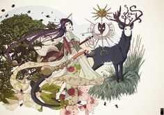 The book of witch on Behance