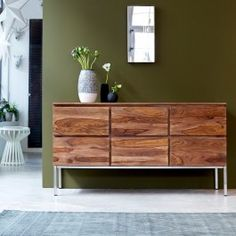 Nova Sheesham 6-Drawer Chest