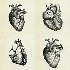 Skabeloner til flettede hjerter - Picmia