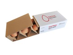 There are so many great egg packagings, but at the supermarket the egg box is still going boring… Egg Packaging, Smart Packaging, Food Packaging Design, Beverage Packaging, Packaging Design Inspiration, Corrugated Packaging, Cardboard Packaging, Sustainable Design, Box Design