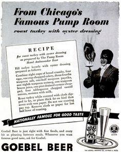 Goebel Beer advert, Life, January 17, 1944