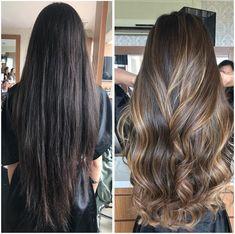 Hair highlights balayage asian Super ideas Hair highlights balayage asian Super i Brown Blonde Hair, Brunette Hair, Dark Hair, Hair Color Balayage, Ombre Hair, Asian Balayage, Bayalage, Balayage On Long Hair, Balayage Highlights Brunette