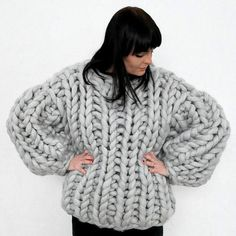 Meredith Loves Knitwear In 2020 Grobstrick Grobstrick Pullover