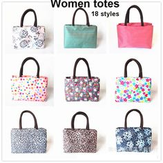 Newest canvas candy bags women Fashion totes hello kitty handbag leopard bolso bolsa de la compra 18 styles $11.49