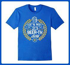 Mens 23rd Birthday Gift Beer Shirt It's My 23 Beer-th Day T-Shirt 2XL Royal Blue - Birthday shirts (*Amazon Partner-Link)