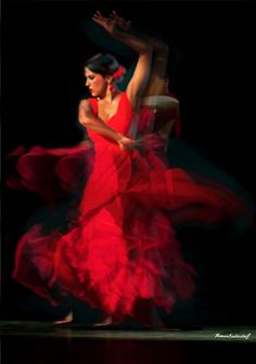 Flamenco dancer II Latin Dance, Dance Art, Salsa, Spanish Dancer, Spanish Art, Kinds Of Dance, Gypsy, Shall We Dance, Dance Poses