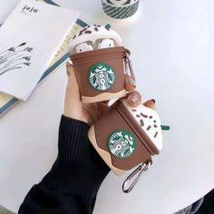 Starbucks Cappuccino AirPod Case Airpods And Generation & AirPod Pro Case Silicone AirPod – Phone case for girls Cute Ipod Cases, Iphone 5 Cases, Iphone 8, Airpod Pro, Airpod Case, Batterie Iphone, Starbucks, Airpods Apple, Mocha Frappuccino
