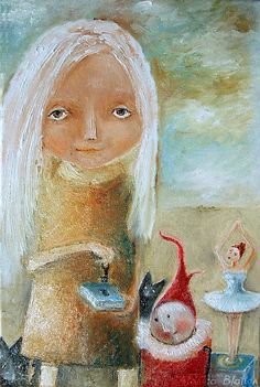 Art by Monica Blatton <3  Click image to visit her shop