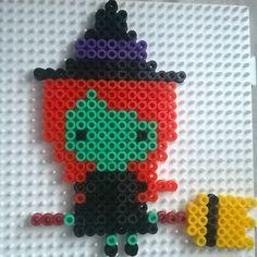 Witch - Halloween hama beads by amychurri
