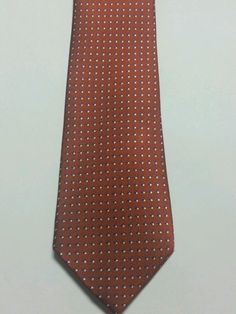 NEW Banana Republic Brown Polka Dot 100% Silk Multi Color Classic Mens Neck Tie  #BananaRepublic #NeckTie