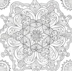 Psychedelic Mushroom Coloring Pages Ice lineart by liquid-mushroom