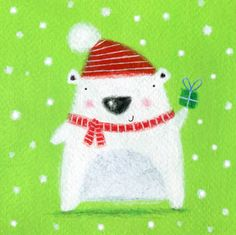 Lucy Barnard - polar bear present.jpg