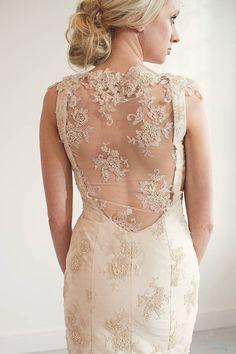 Gabriella Lace Fishtail Wedding Dress