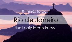 Read our insider's guide to learn exciting local secrets for your next trip to Rio De Janiero!