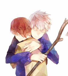 Tags: Anime, Staff, Blue Hoodie, Momomoca, Jack Frost, Rise of the Guardians, Jamie Bennett