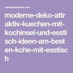 AuBergewohnlich Moderne Deko Attraktiv Kuechen Mit Kochinsel Und Esstisch