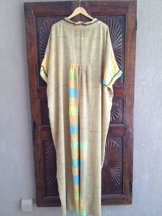 Caftan long chiffon sheer kaftan maxi dress neon resort weaR