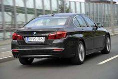 The new BMW 518d Sedan. (09/2014)
