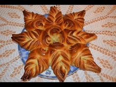 Звездочка.Моя идея,Meine Idee,My idea.Flower Bread. - YouTube Tasty Videos, Food Videos, Star Bread, Bread Shaping, Medvedeva, Pastry Art, Bread And Pastries, Creative Food, Italian Recipes