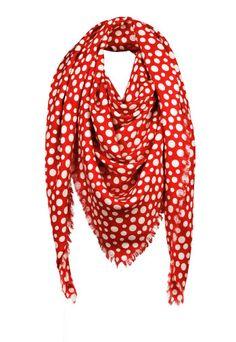 Yayoi Kusama for Louis Vuitton - monogram shawl