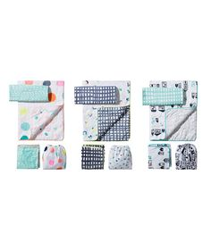 These bedding sets are designed so you can mix and match, no matter which patterns you choose.